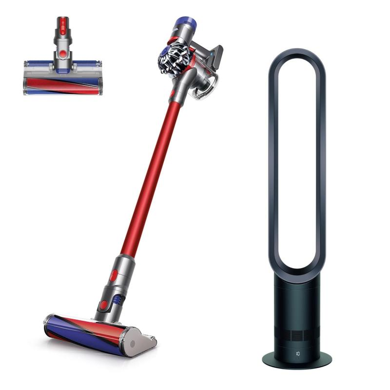 SPECIAL DEAL Dyson V7™ Fluffy+ Cord-Free Vacuum Cleaner WITH Dyson AM07 Tower Fan Black/Nickel Singapore