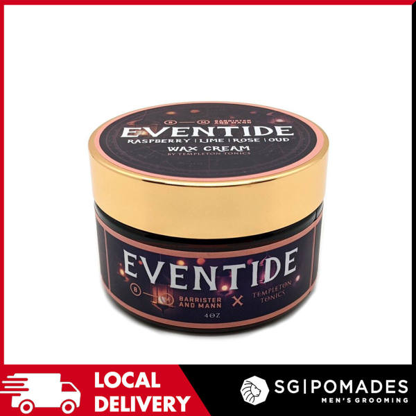 Buy Templeton Tonics Eventide Wax Cream - Barrister and Mann Collaboration-SGPOMADES Singapore