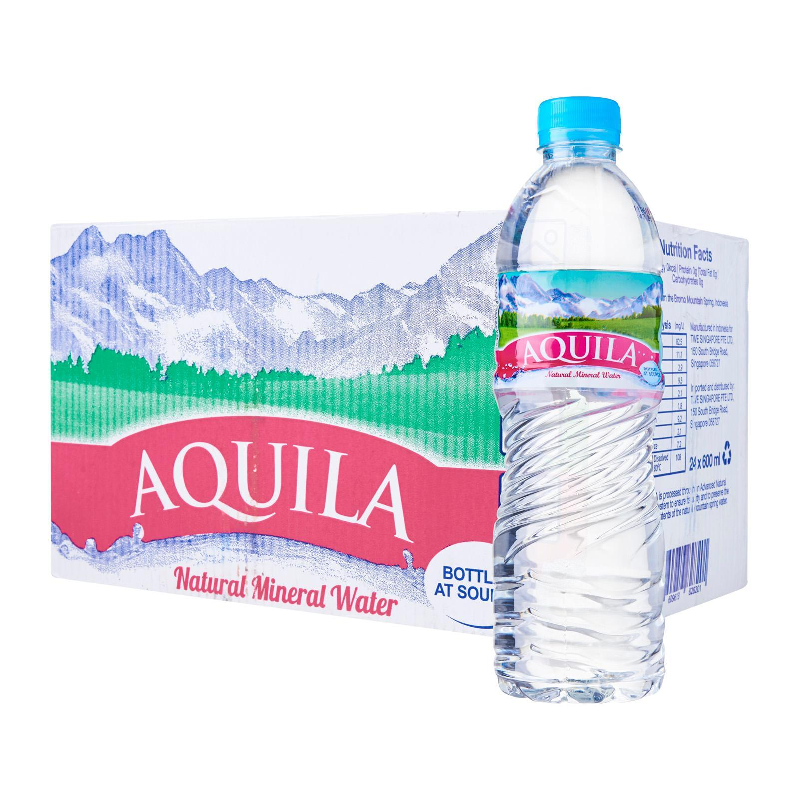 Aquila Natural Mineral Water - Case