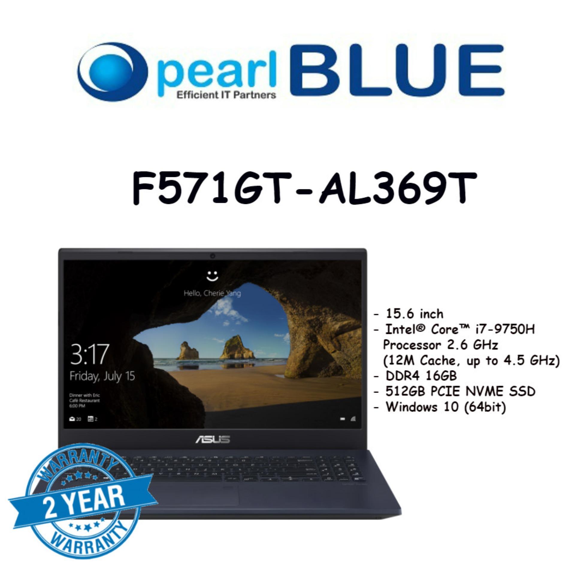 ASUS Vivobook Pro 15 F571GT-AL369T / i7-9750H / 16GB / DDR4 / 512GB PCIE SSD / GTX 1650