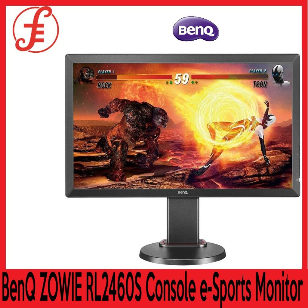 BenQ ZOWIE RL2455S 24 Inch Full HD Gaming Monitor Competitive Esports Gaming Dual HDMI 1080p 1ms Response Time for Console Black eQualizer Color Vibrance