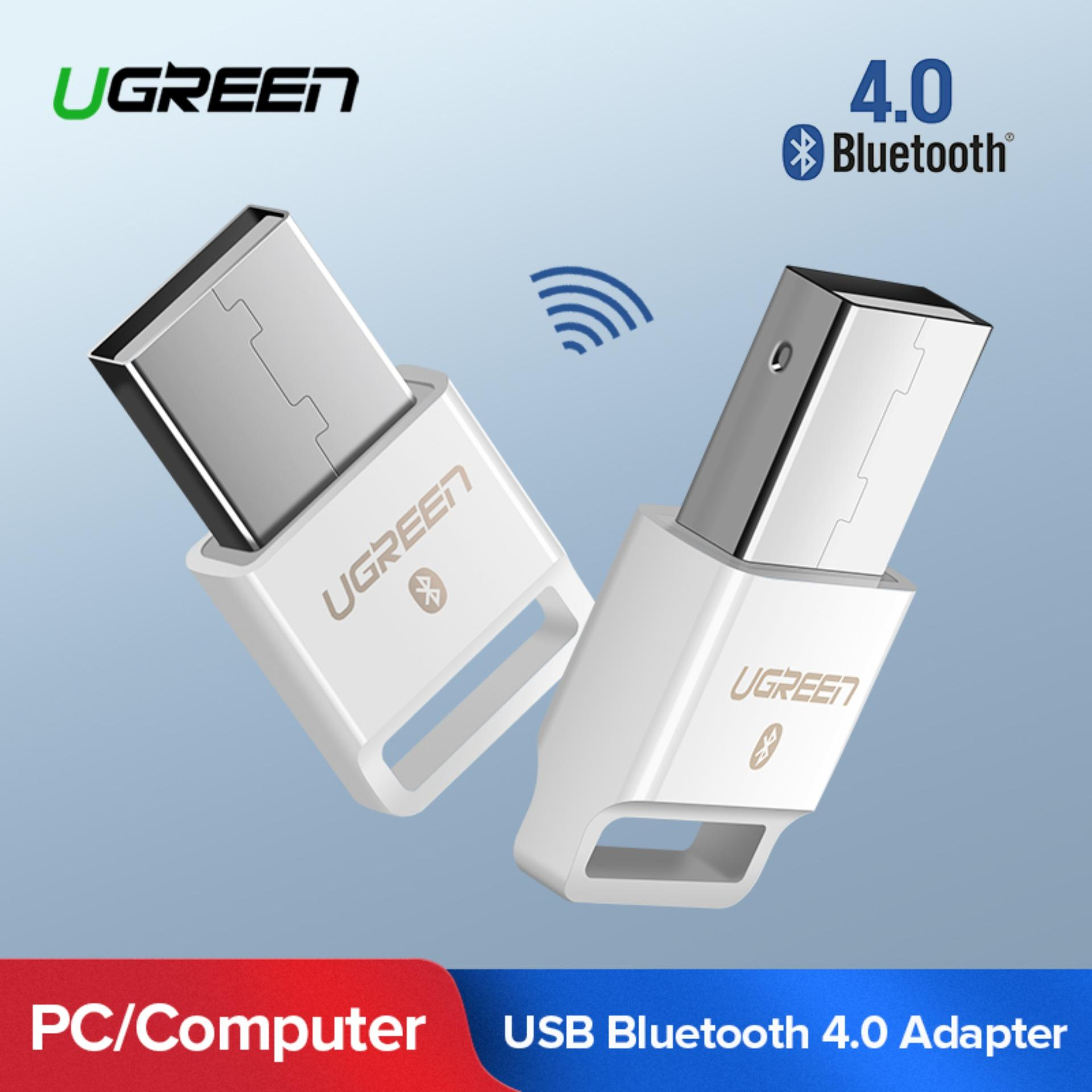 UGREEN Mini USB V 4.0 Wireless Bluetooth Dongle CRS Audio Receiver Compatible with Windows PC Cellphone