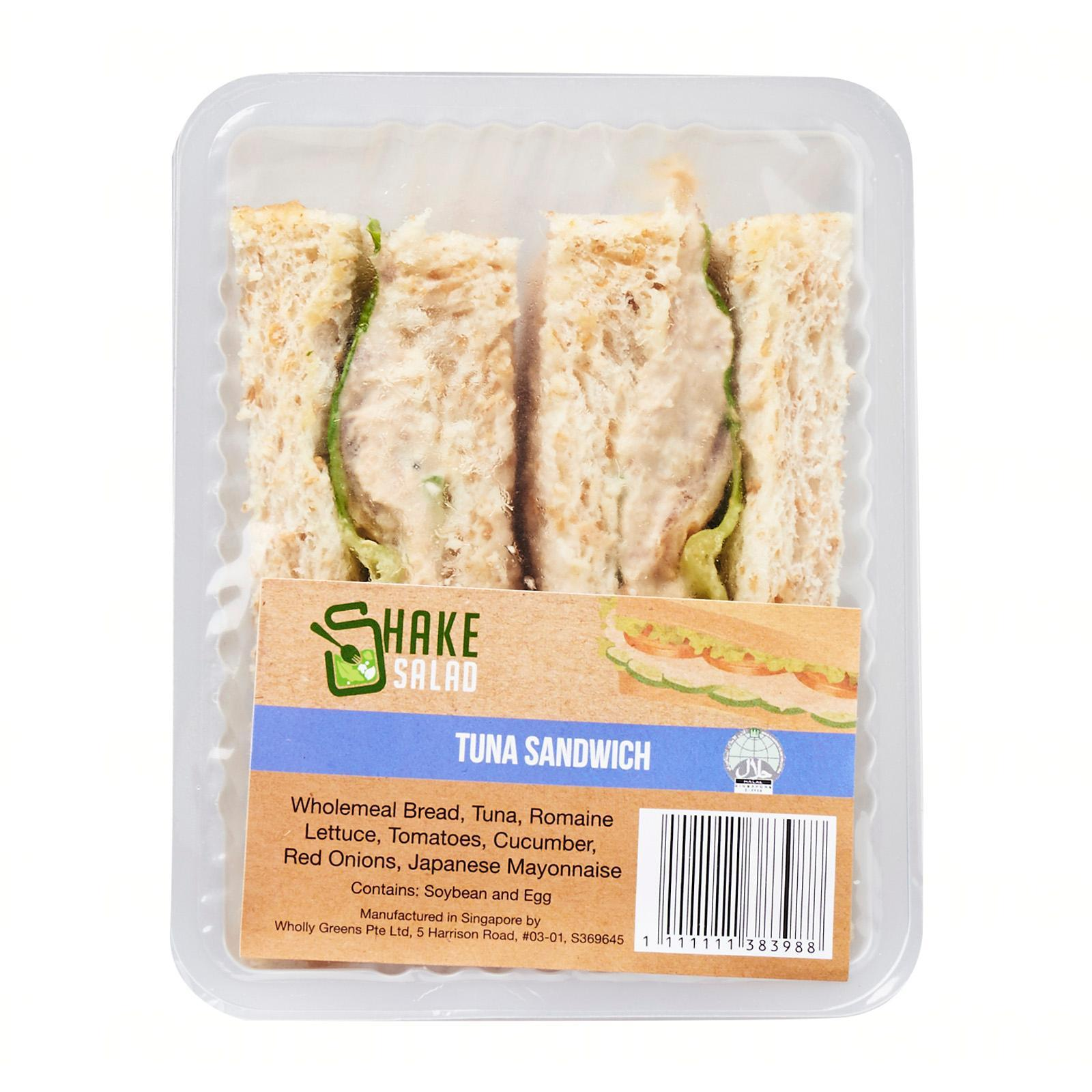 Shake Salad Tuna Sandwich