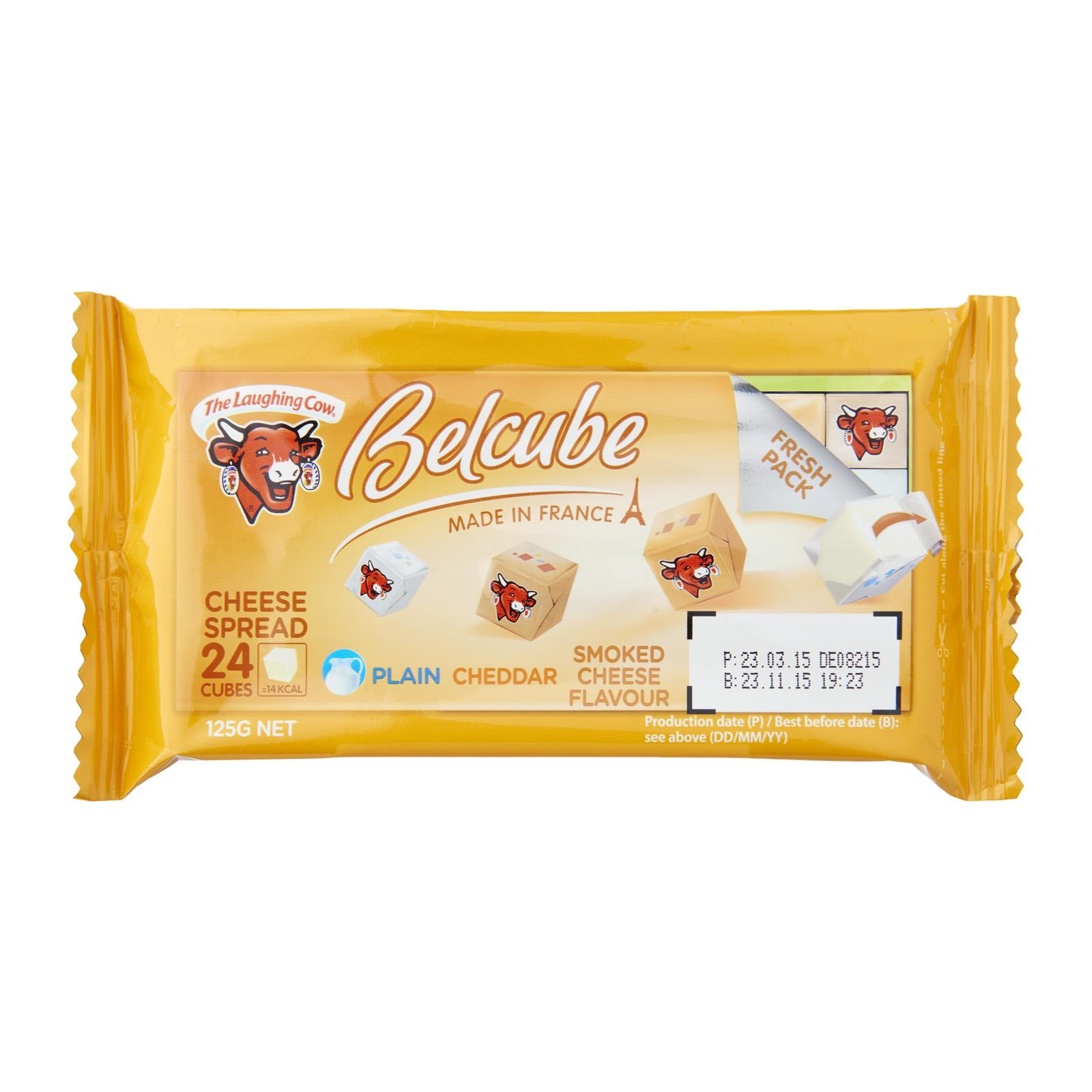 Belcube Yellow 24C (Plain Cheddar Smoked Cheese Flavors)