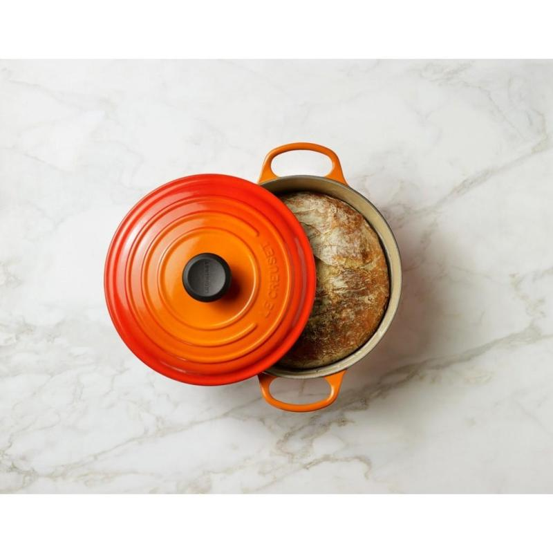 Le Creuset Cast Iron Round French Oven 18cm, Classic (Flame) Singapore