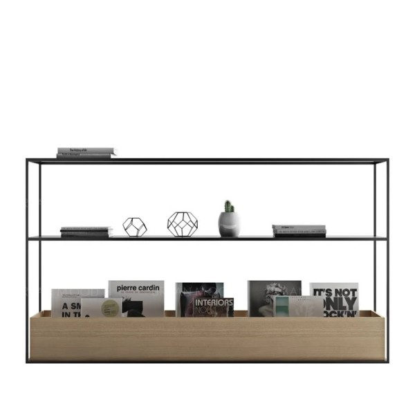 [Pre-Order] TYRELL Modern Industrial Wooden Display Stand