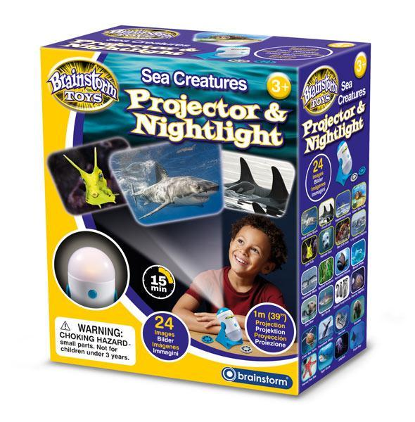 Projector and Night light: Sea Creatures