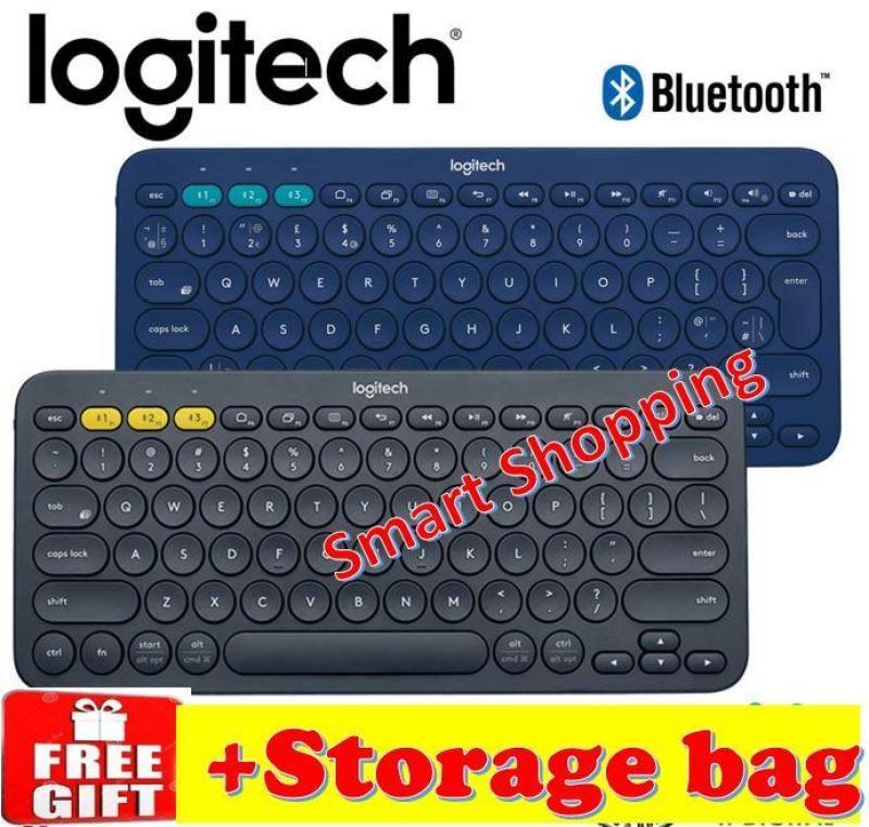 Logitech K380 Multi-Device Bluetooth Keyboard K 380 Blue tooth Black Blue KB Singapore
