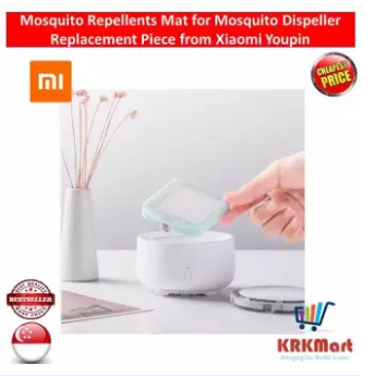 (Courier Delivery) Mosquito Repellents Mat for Mosquito Dispeller Replacement Piece from Xiaomi Youpin