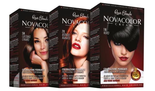 Buy Renée Blanche NovaColor Hair Cream 5N CASTANO CHIARO Made in Italy Singapore