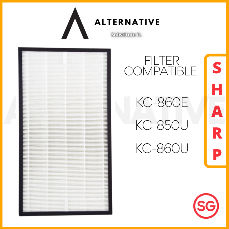 SHARP KC-860E KC-850U KC-860U Compatible HEPA Filter Singapore