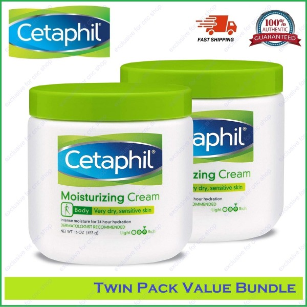 Buy [Twin Pack] Cetaphil Moisturizing Cream (16Oz / 453g) Singapore