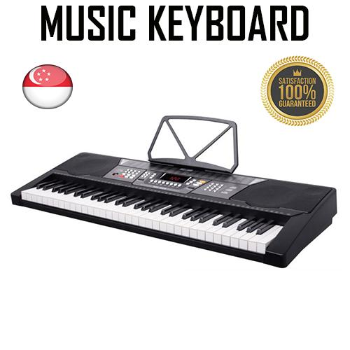 61 Key High Quality LCD Display Music Keyboard Piano