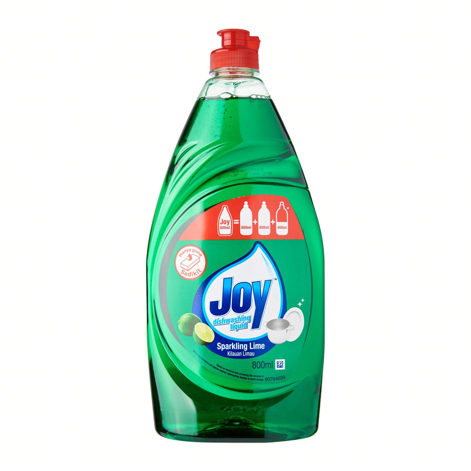 Joy Sparkling Lime Concentrated Dishwashing Liquid