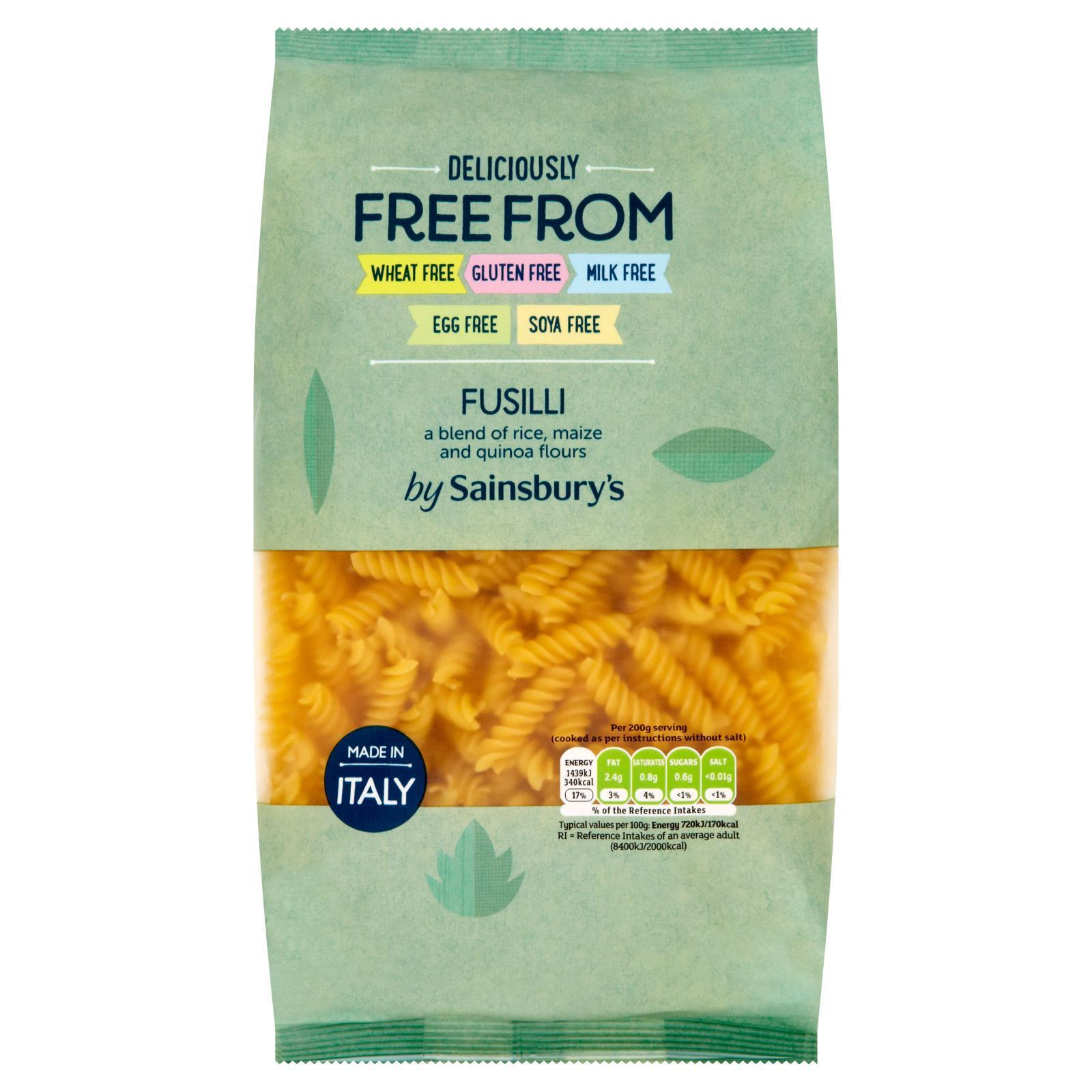Sainsbury's Free From Fusilli