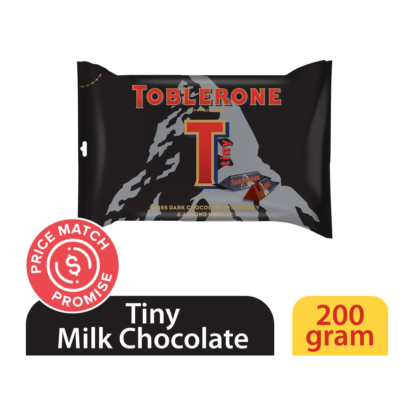 Toblerone Mini Dark Chocolate With Honey And Almond Nougat
