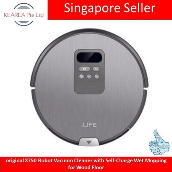 original X750 Robot Vacuum Cleaner with Self-Charge Wet Mopping for Wood Floor Singapore