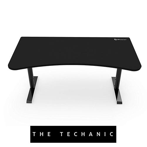 AROZZI ARENA GAMING TABLE PURE BLACK