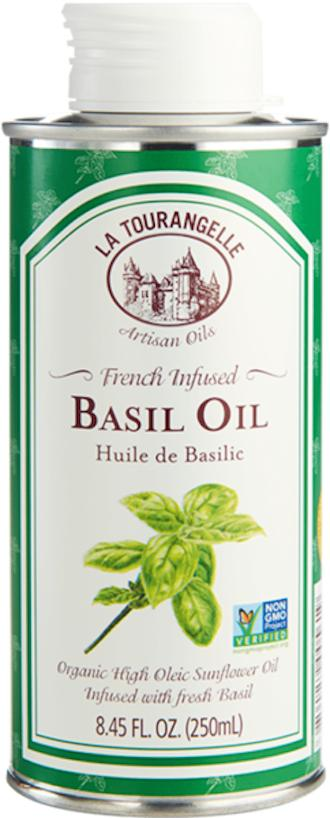French Infused Basil Oil 250ml Medium High Heat Cooking Sunflower Oil Infused With Fresh Basil Distinctive Flavourful And All-Natural By La Tourangelle By Edvolution 66.