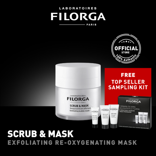 Buy FILORGA SCRUB & MASK Exfoliating Bubble Mask 55mL Singapore