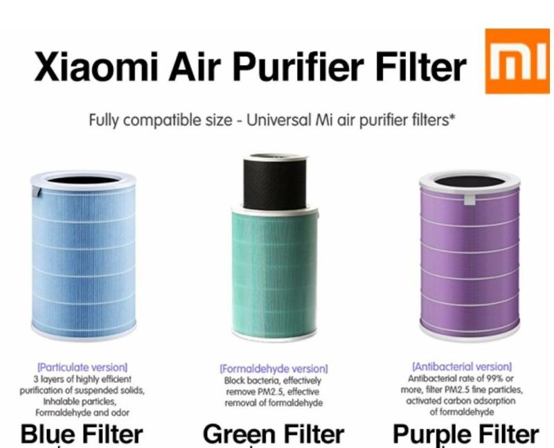 AUTHENTIC LOCAL SELLER Xiaomi Mi Air Purifier Filter Replacement for Xiaomi Air Purifier Gen 1/2/2s/3/pro Singapore