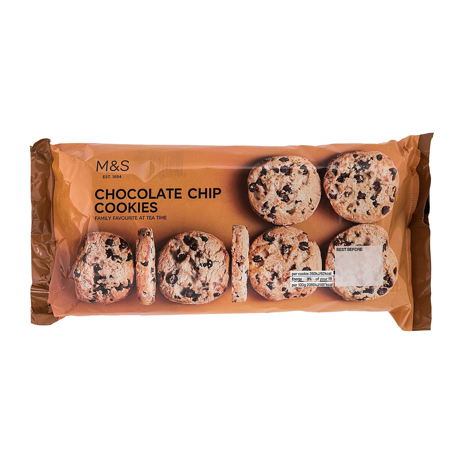 Marks & Spencer Banded Pack Chocolate Chip Cookies