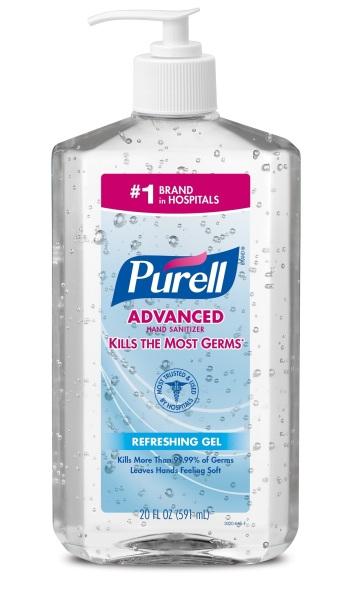 Buy PURELL® Advanced Hand Sanitizer Gel- 20 fl oz (591ml) Singapore