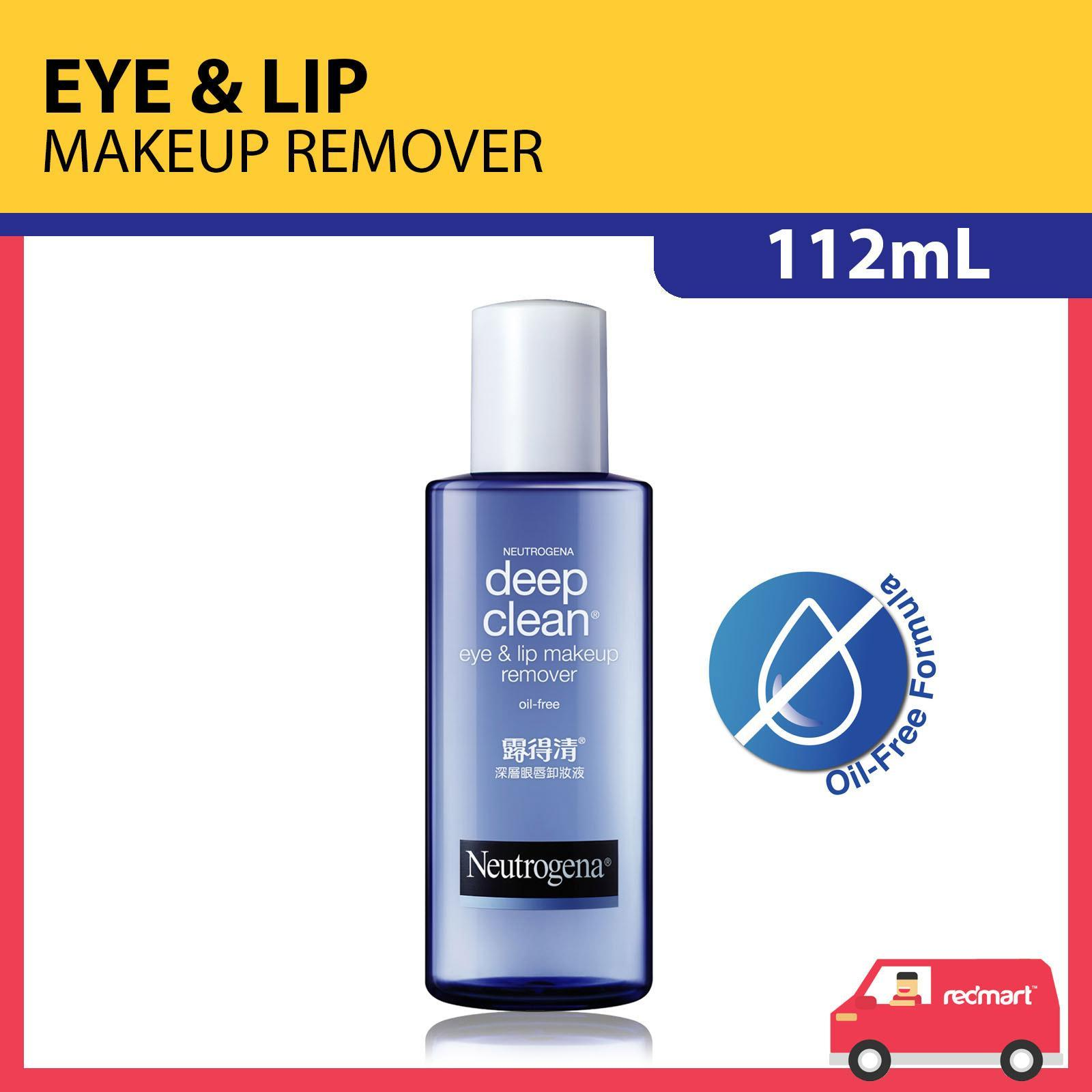 NEUTROGENA deep clean® oil free eye lip makeup remover