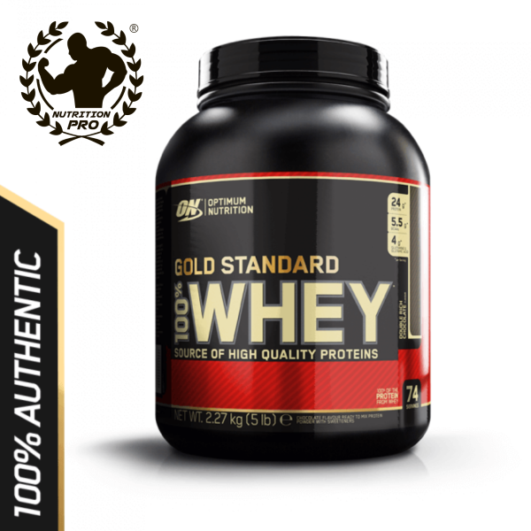 Buy Optimum Nutrition - GOLD STANDARD 100% WHEY PROTEIN (5 LBS) Singapore