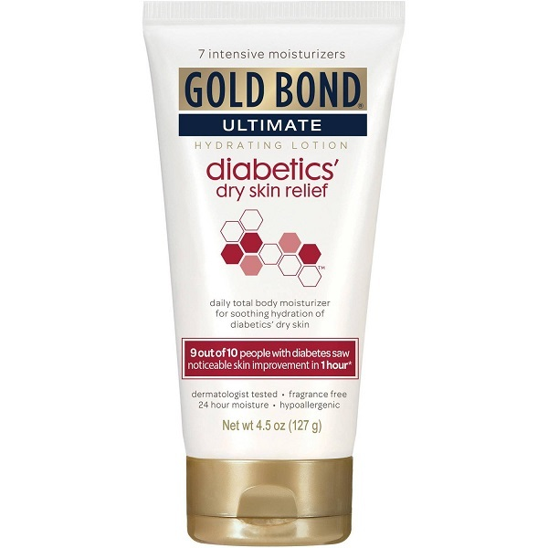 Buy Gold Bond Ultimate Diabetics' Dry Skin Relief Hydrating Lotion 127g Singapore