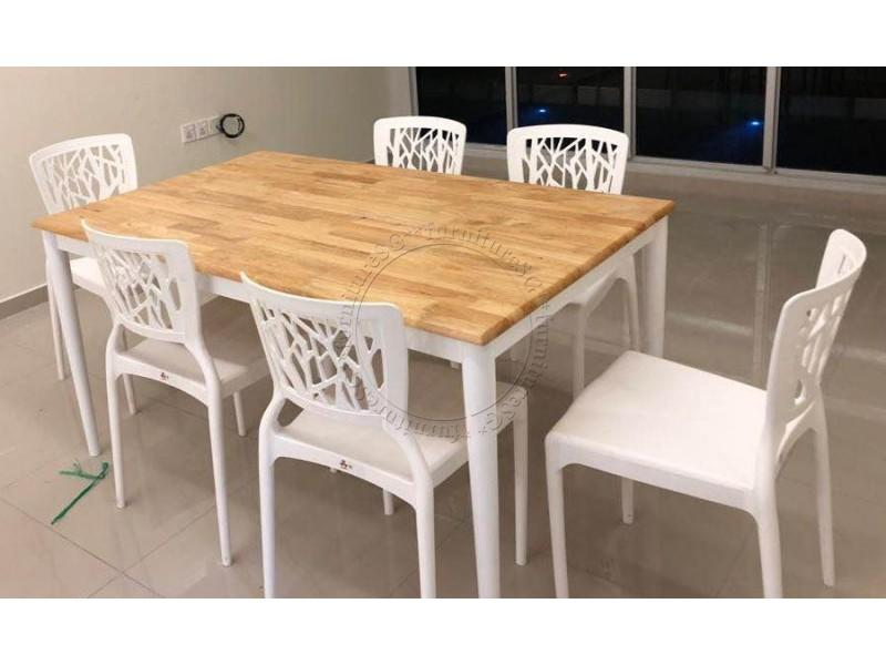 (FurnitureSG) 1+4 Brand New Dining Set [Free Delivery and installation]
