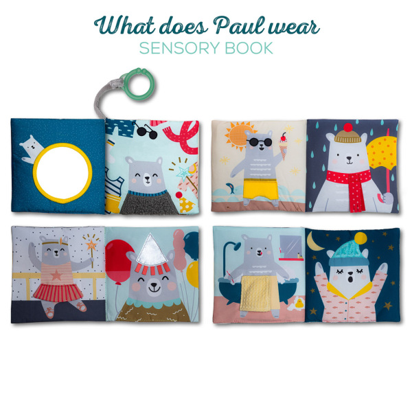 Taf Toys What does Paul Wear Book Singapore