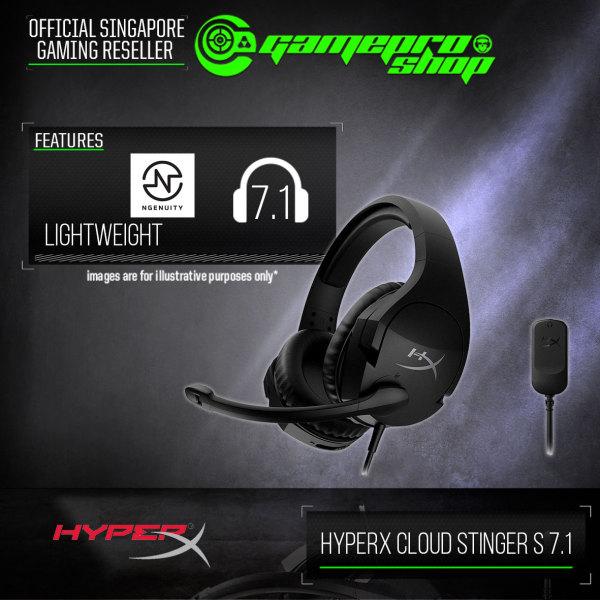 HyperX Cloud Stinger S 7.1 Gaming Headset - HHSS1S-AA-BK/G (2Y)