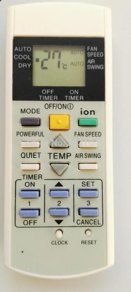 General Panasonic Remote Control A75C3299 A75C2600 2602 2632 2656 Remote