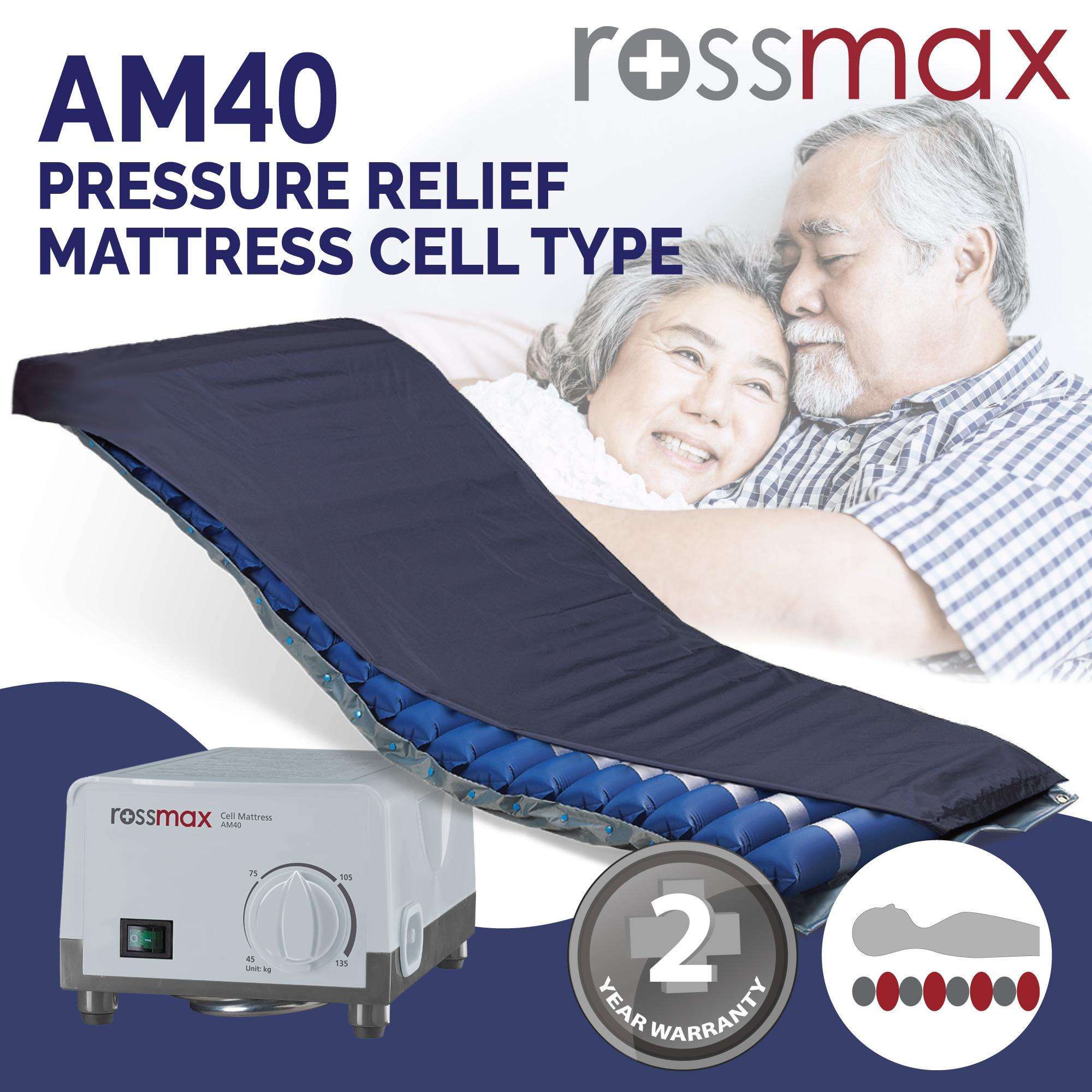 Rossmax Pressure Relief Mattress Am40.