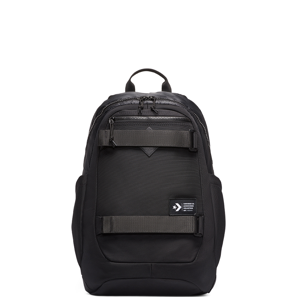 CONVERSE UTILITY BACKPACK - CONVERSE BLACK - UTILITY - COLOR - 10018446-A01
