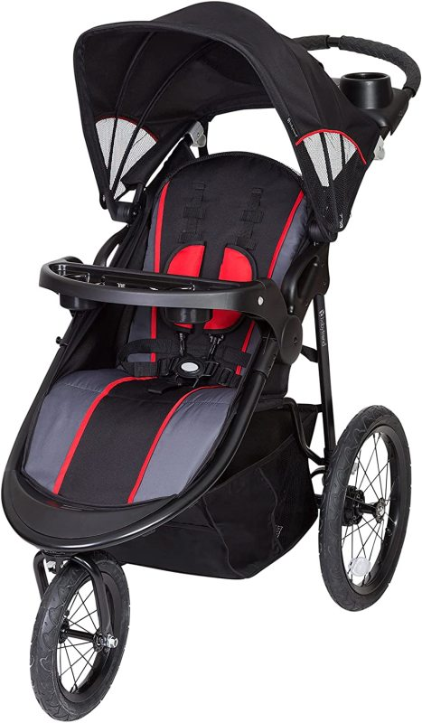 Baby Trend Pathway 35 Baby Infant Child Children Kids Running Sports Sport Jogger Stroller, Optic Red Singapore