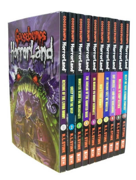 UK ver. Goosebumps Horrorland Series Collection R. L. Stine 10 Story Books Box Set 3 by R.L. Stine