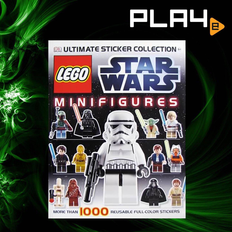 LEGO Star Wars Minifigure Ultimate Sticker Book
