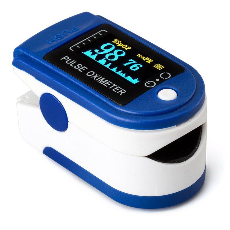 Đầu Đề Cập Đến Ngón Tay Pulse Oximeter SPO2 Theo Dõi Oxy Trong Máu Xung Đồng Hồ Đo Nhịp Tim bán chạy