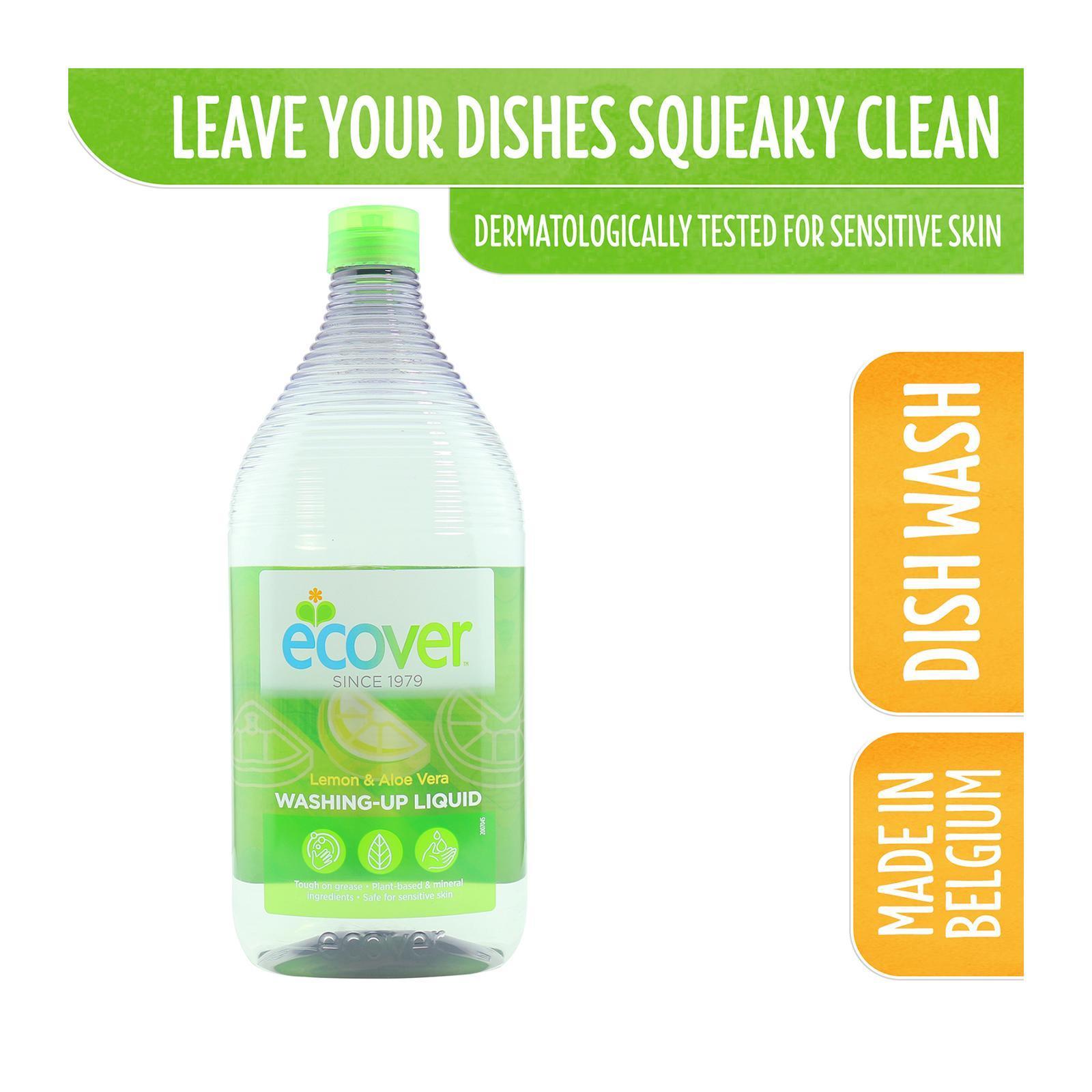 Ecover Washing Up Liquid Lemon And Aloe Vera - By Corlison