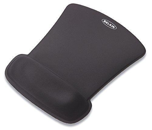 Belkin WaveRest Gel Ergonomic Computer Mouse Pad Mousepad with Wrist Support, Black for Laptop Computers