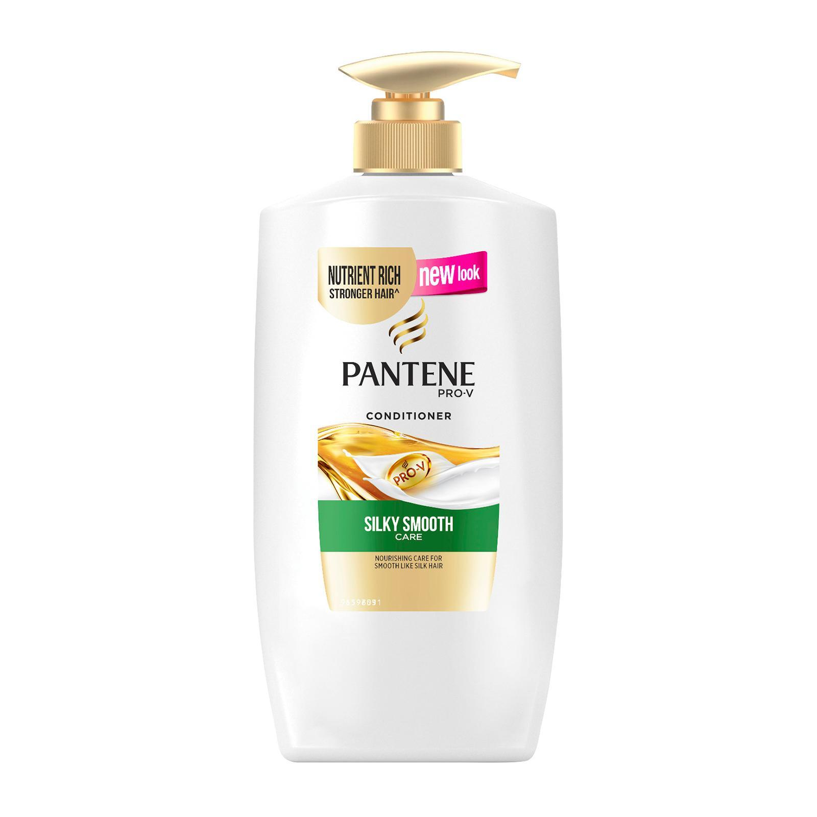 PANTENE pro v silky smooth care conditioner 670ml