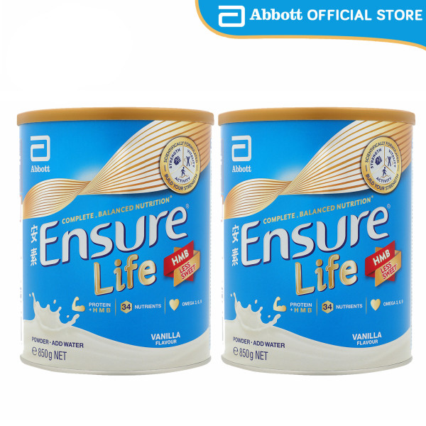 Buy [Bundle of 2] Ensure Life - Vanilla (850g) Singapore