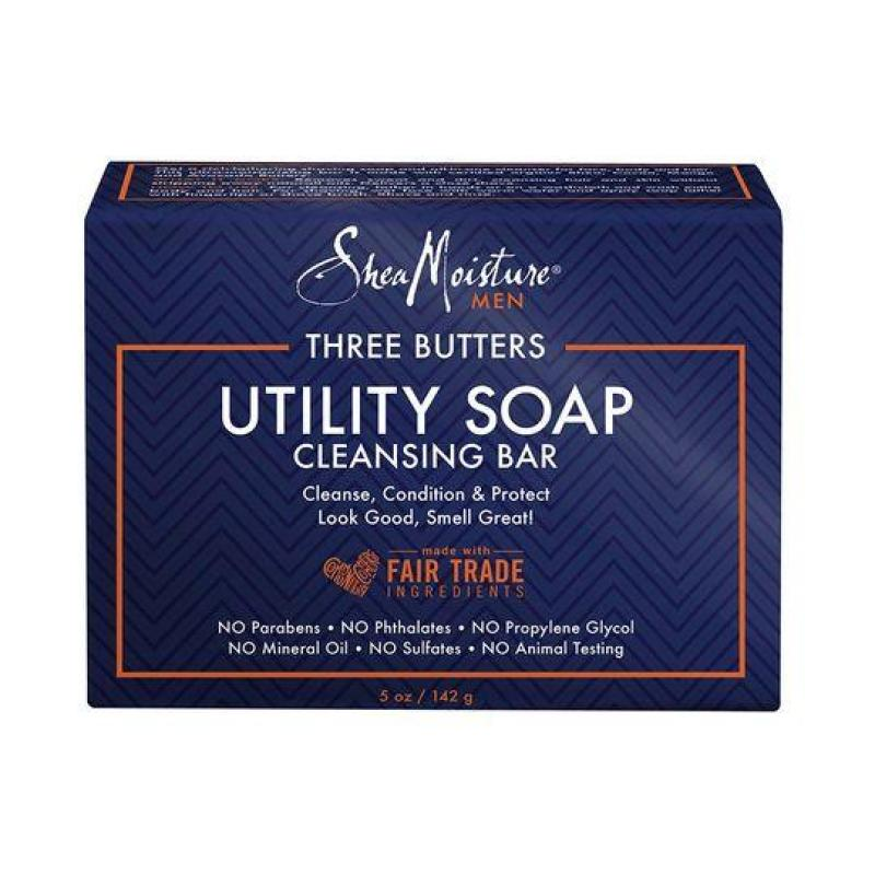 Buy SheaMoisture For Men Three Butters Utility Soap - 142g Singapore