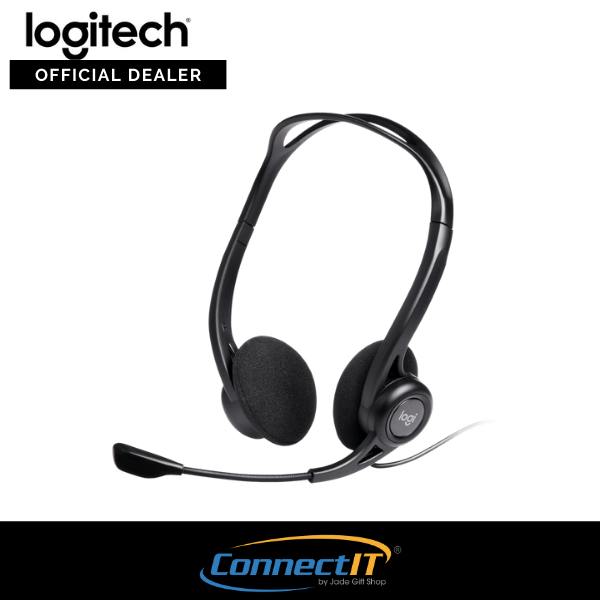 Logitech H370 USB Wired Computer On-ear Headset with Noise Cancelling Mic (1 Year Local Warranty) Singapore