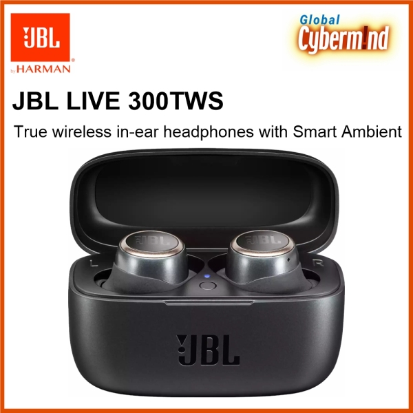 JBL LIVE 300TWS True wireless in-ear headphones with Smart Ambient (Brought to you by Global Cybermind) Singapore