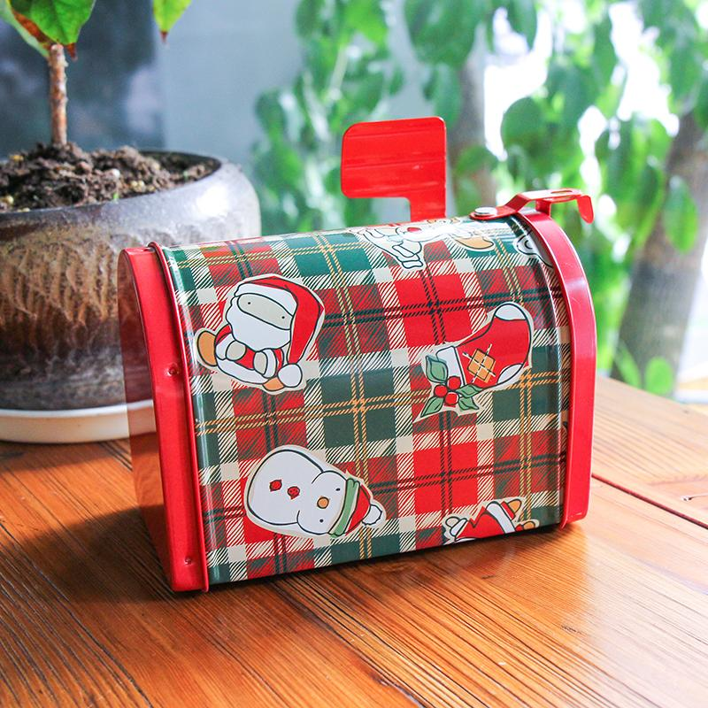 Children Christmas Gift Candy Box Creative Mailbox Tinplate Weddingcandy Gift Packing Box Storage Gift Box Big By Taobao Collection.