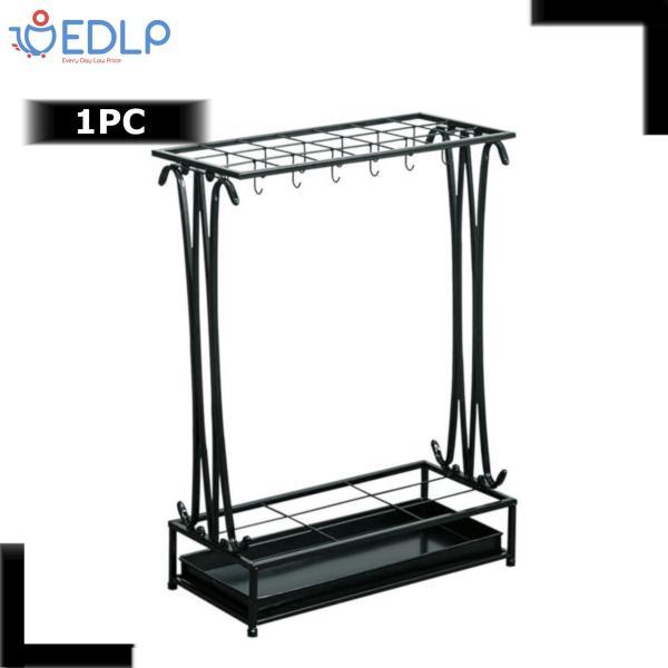Black Umbrella Stand - Metal by EDLP