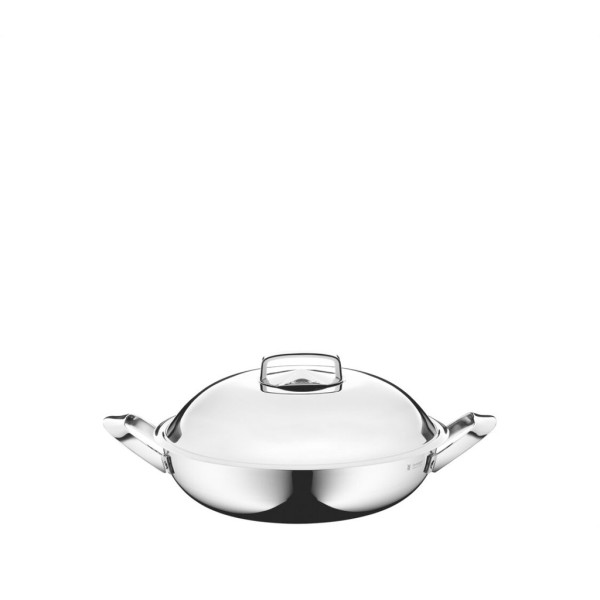 WMF 32cm Wok with Lid and 2 Side Handles 0795036040 Singapore